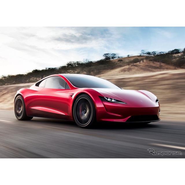 テスラ(Tesla)のイーロン・マスクCEOは1月29日、新型テスラ『ロードスター』(Tesla Roadster)に関して...
