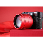 「TTArtisan 50mm f/0.95 ASPH Red Limited Edition」