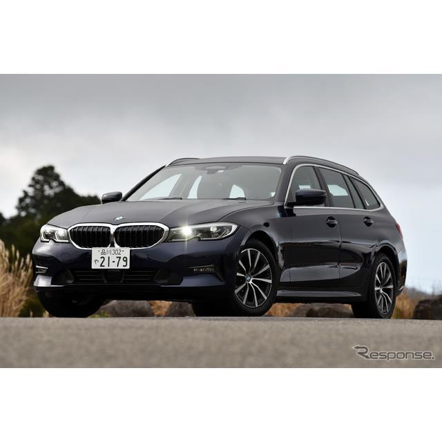 BMWは新型『3シリーズツーリング』に、2リットルガソリンエンジンを搭載したエントリーモデル「318iツーリ...