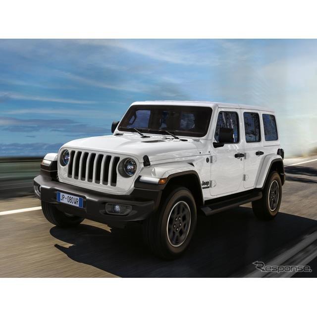 ステランティス傘下のジープ(Jeep)ブランドは1月28日、ジープの80周年を記念した特別モデルをデジタルワ...