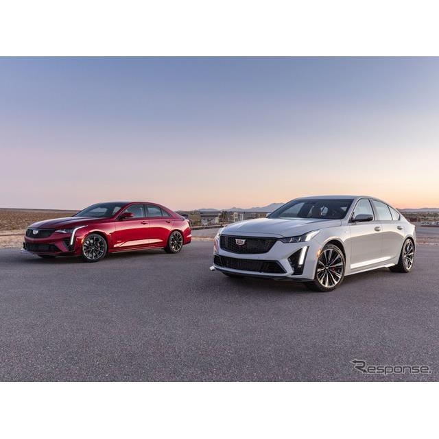 キャデラック(Cadillac)は1月30日、最新「Vシリーズ」の『CT4-V』、『CT5-V』のさらなる高性能モデル、『...