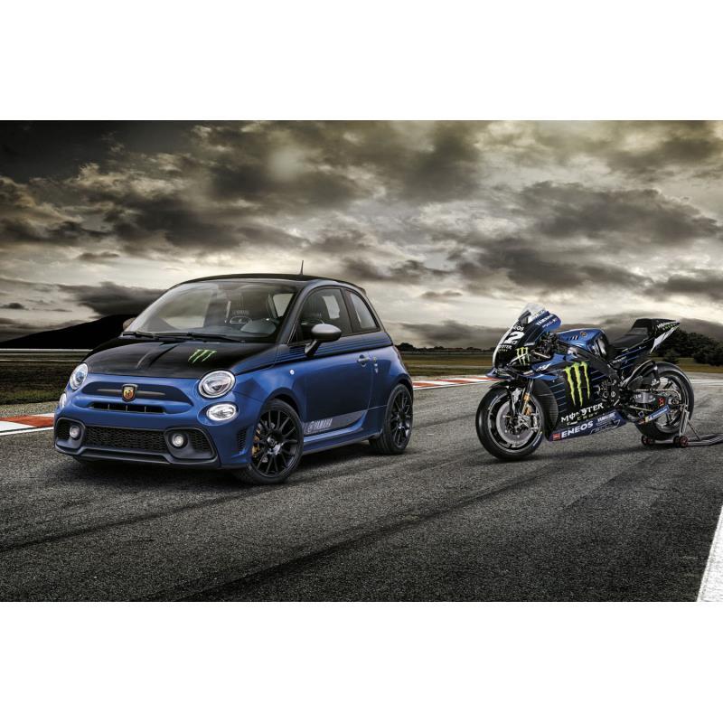 FCAジャパンは2021年2月2日、「アバルト595」に特別仕様車「595 Monster Energy Yamaha(モンスターエナジ...