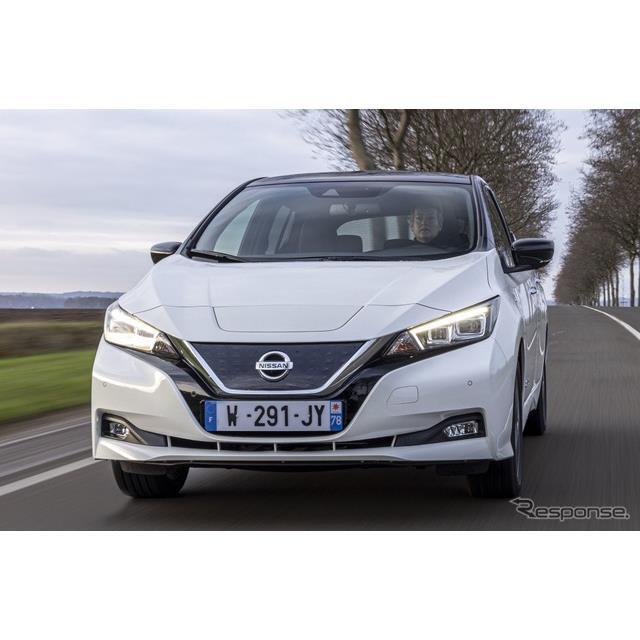 日産自動車の欧州部門は2月1日、EVの『リーフ』(Nissan LEAF)の10周年記念車、『リーフ10』を発表した。2...