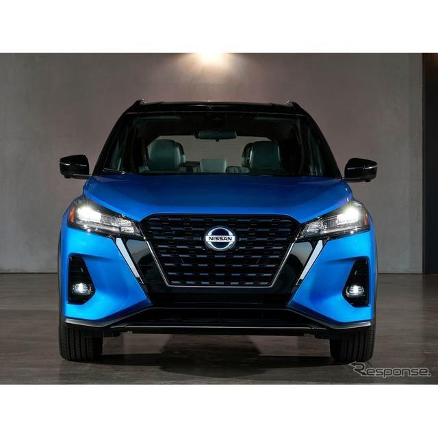 日産自動車の米国部門は2月5日、『キックス』(Nissan Kicks)の2021年モデルを米国市場で発売した。現地ベ...