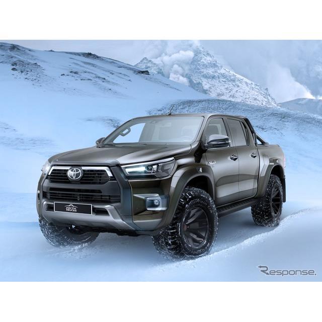 トヨタ自動車の英国部門は2月5日、『ハイラックスAT35』(Toyota Hilux AT35)を発表した。  ◆アークテ...