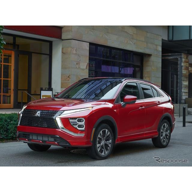 三菱自動車の米国部門は2月9日、改良新型『エクリプスクロス』(Mitsubishi EclipseCross)の米国ベース価...