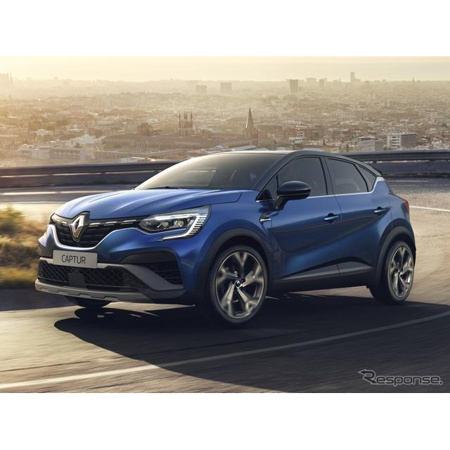 ルノーは2月12日、欧州向け『キャプチャー』(Renault Captur)の2021年モデルを発表した。キャプチャー初...