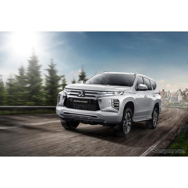 三菱自動車は、ミッドサイズSUV『パジェロスポーツ』を大幅改良し、2月16日よりインドネシアで販売を開始し...