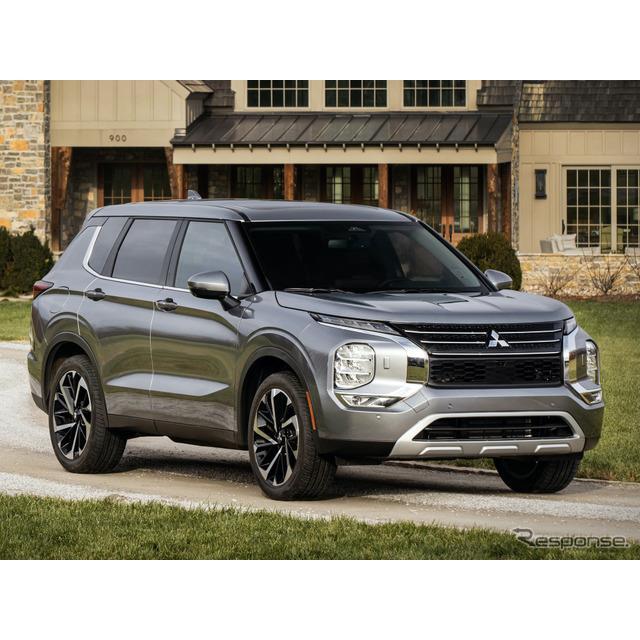 三菱自動車工業は2月17日、フルモデルチェンジしたクロスオーバーSUV『アウトランダー』を発表、4月より米...