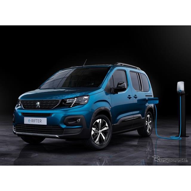 プジョーは2月16日、『リフター』(Peugeot Rifter)のEV、『eリフター』を欧州で発表した。  eリフター...