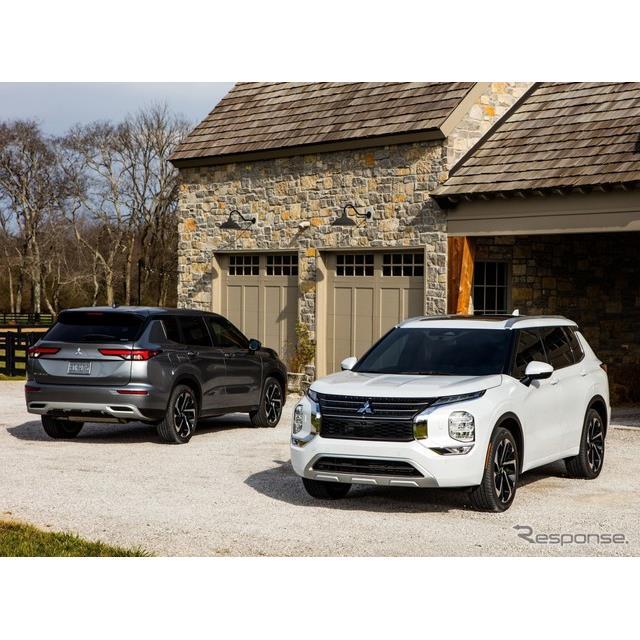 三菱自動車の米国部門は2月17日、『アウトランダー』(Mitsubishi Outlander)新型の米国ベース価格を、2万...