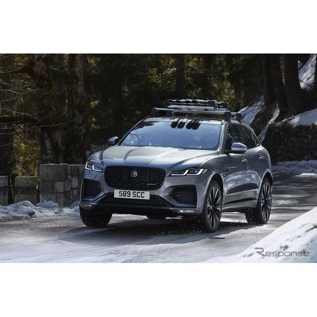 ジャガー・ランドローバー・ジャパンは、発売以来初の大幅改良を受けたジャガーの高性能SUV『F-PACE』2021...