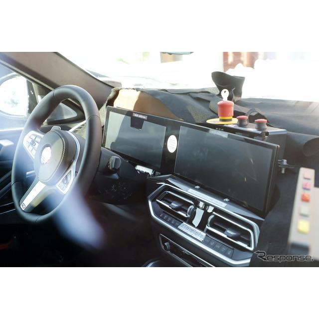 BMWのSAC(スポーツ・アクティビティ・クーペ)、『X6』改良新型を初スクープ!同時にその内部も激写するこ...