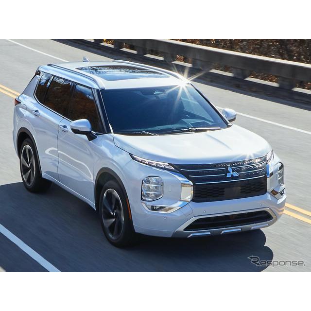 三菱自動車工業は2月17日、フルモデルチェンジしたクロスオーバーSUV『アウトランダー』を発表した。足掛け...