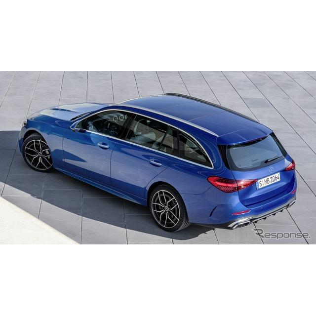 メルセデスベンツは2月23日、新型『Cクラス・エステート』(Mercedes-Benz C-Class Estate)をデジタルワー...