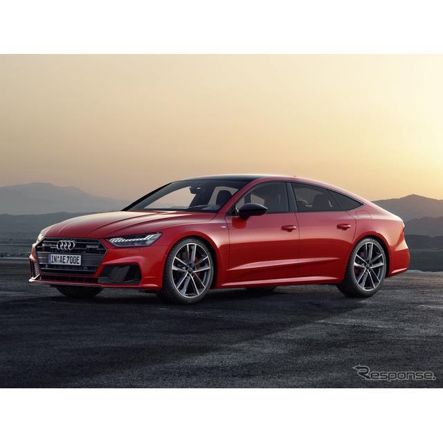 アウディは2月23日、『A7スポーツバック』(Audi A7 Sportback)のプラグインハイブリッド車(PHV)の改良...