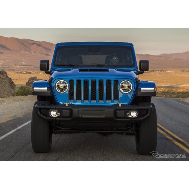 ステランティス傘下のジープブランドは2月24日、『ラングラー・ルビコン392』(Jeep Wrangler Rubicon 392...
