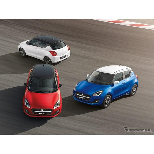 スズキのインド子会社のマルチスズキは2月24日、『スイフト』(Suzuki Swift)の2021年モデルを発表した。...