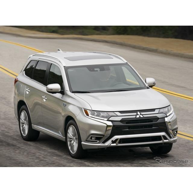 三菱自動車の米国部門の三菱モータースノースアメリカは2月24日、『アウトランダーPHEV』(Mitsubishi Outl...