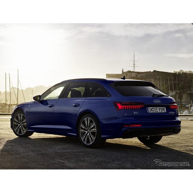 アウディは2月23日、『A6アバント』(Audi A6 Avant)のプラグインハイブリッド車(PHV)の改良モデルを欧...