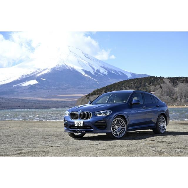 BMW車をベースにしたハイエンドモデルを50年以上に渡り作り続けるアルピナ社のSUVクーペ、BMWアルピナ『XD4...