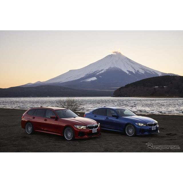 2021年2月22日に販売が開始されたアルピナ『DS3 S リムジーネ(セダン)/ツーリング(ワゴン)』は、BMW『3...