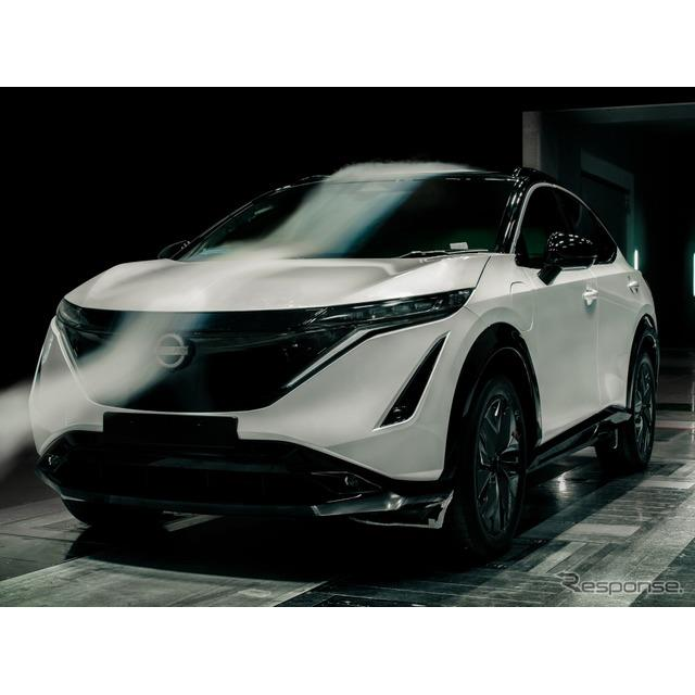 日産自動車の欧州部門は2月24日、新型EVの『アリア』(Nissan Ariya)が、日産のクロスオーバー車の歴史に...
