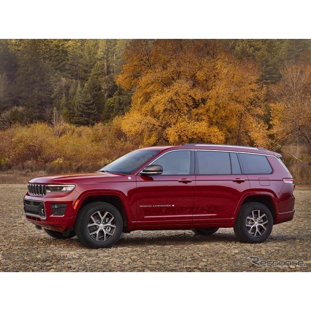 ステランティス傘下のジープブランドは2月26日、新型『グランドチェロキーL』(Jeep Grand Cherokee L)を2...