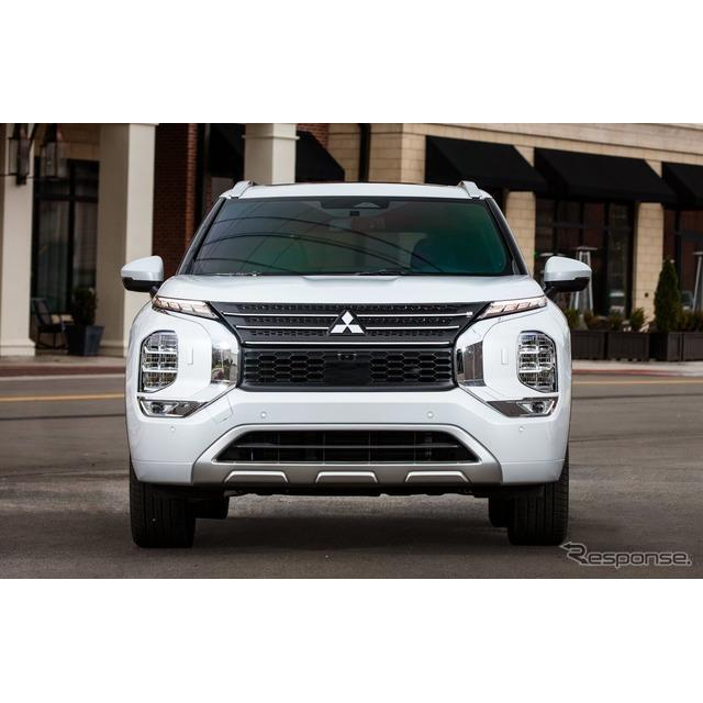 三菱自動車の米国部門は3月1日、新型『アウトランダー』(Mitsubishi Outlander)を4月、米国市場で発売す...