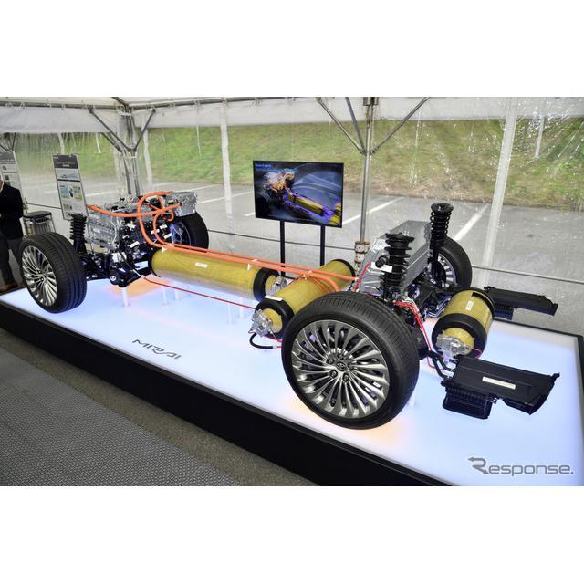 トヨタ自動車が発売した燃料電池自動車(FCV)新型『MIRAI』に、トヨタ自動車と宇部興産が共同開発したFCV...