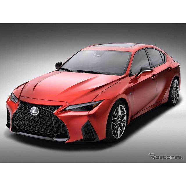 レクサスは2月22日、北米市場において、472hp・5.0リットルV8エンジンを搭載したレクサス『IS500 Fスポーツ...