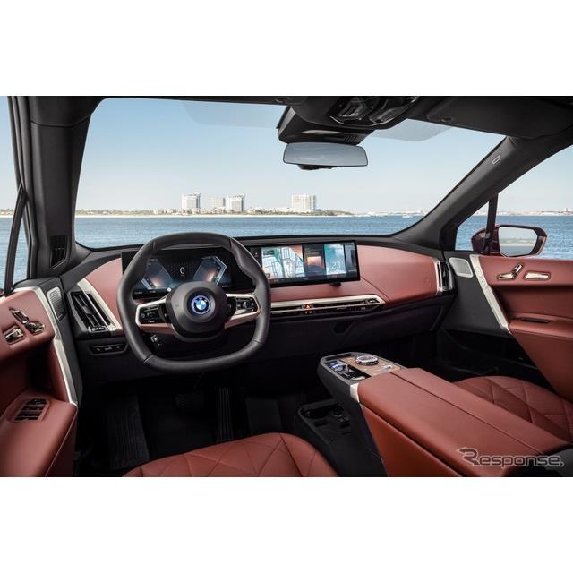 BMWグループ(BMW Group)は3月15日、「BMWオペレーティングシステム8」を発表した。新型EVの『iX』に最初...