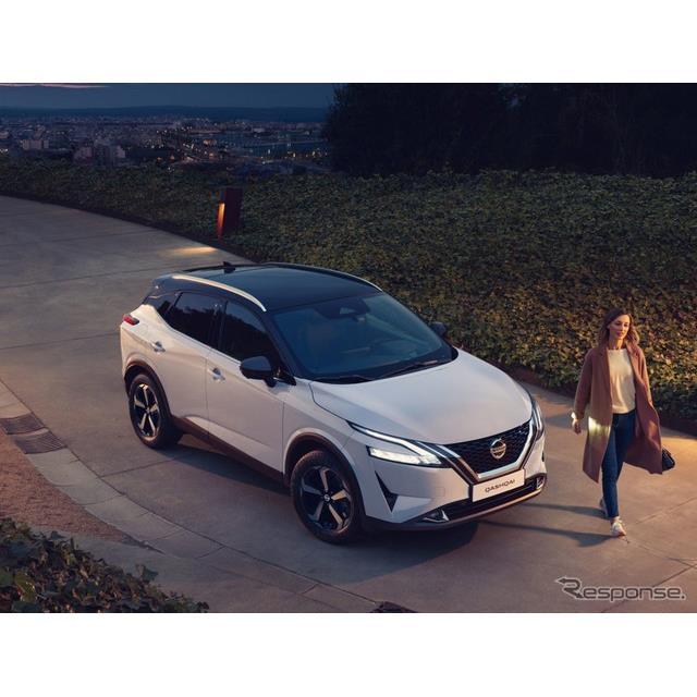 日産自動車の欧州部門は3月16日、新型『キャシュカイ』(Nissan Qashqai)の導入記念車「プレミアエディシ...