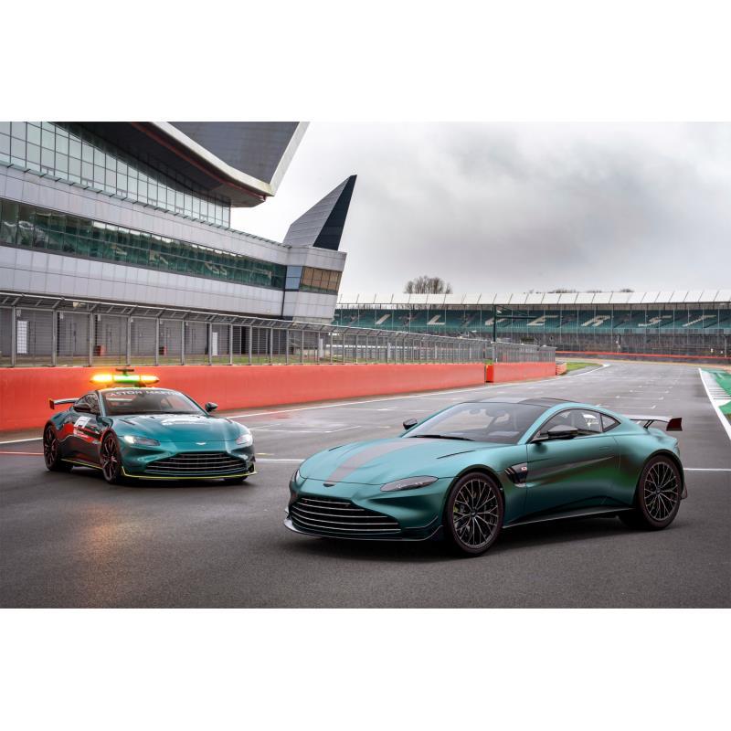 英アストンマーティンは2021年3月22日(現地時間)、「ヴァンテ—ジ」シリーズの最新モデル「ヴァンテージF...