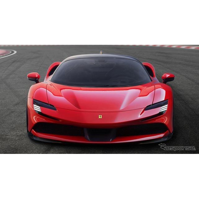 フェラーリ(Ferrari)は3月22日、フェラーリ初のプラグインハイブリッド車(PHV)の『SF90ストラダーレ』...
