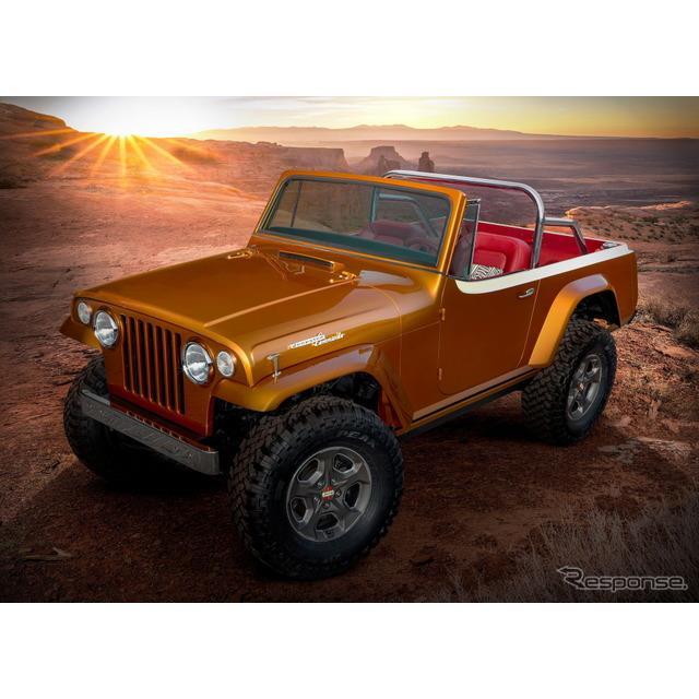 ステランティス傘下のジープブランドは3月22日、コンセプトカーの『ジープスター・ビーチ』(Jeepster Beac...