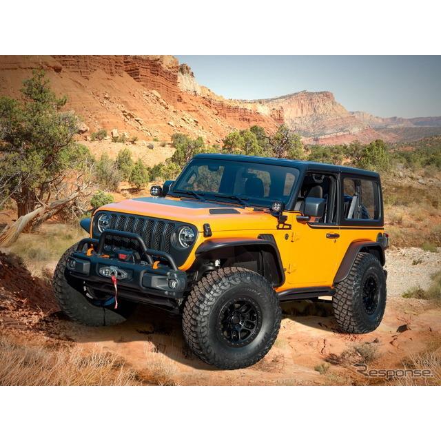 ステランティス傘下のジープブランドは3月22日、コンセプトカーのジープ『オレンジピールズ』(Jeep Orange...