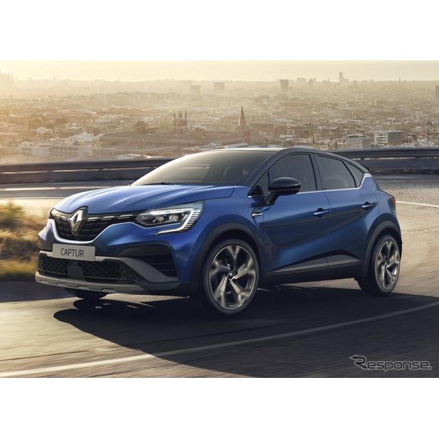 ルノーは3月24日、新型『キャプチャー』(Renault Captur)の「E-TECH」ハイブリッドを欧州市場で発売した...