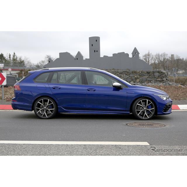 VWは昨年11月、『ゴルフ』の頂点に君臨するハードコアモデルの新型『ゴルフR』をワールドプレミアしたが、...