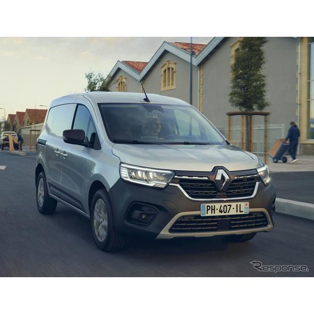 ルノーグループは3月24日、新型ルノー『カングーバン』(Renault KangooVan)のフランス本国での受注を4月1...