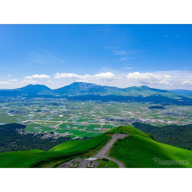 日産自動車と熊本県阿蘇市は、環境にやさしい電気自動車(EV)を活用し、観光活性化に向けたEV優遇施策を発...
