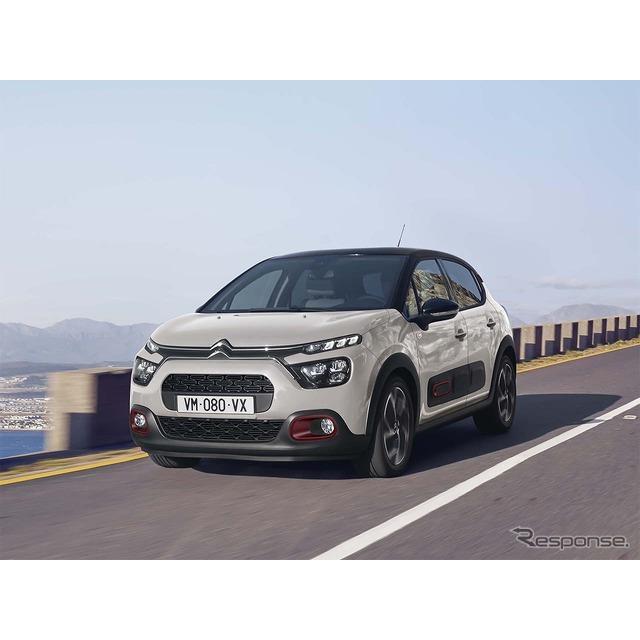 グループPSAジャパンは、シトロエン『C3』改良新型に初の特別仕様車「Cシリーズ」を設定し、4月1日より販売...