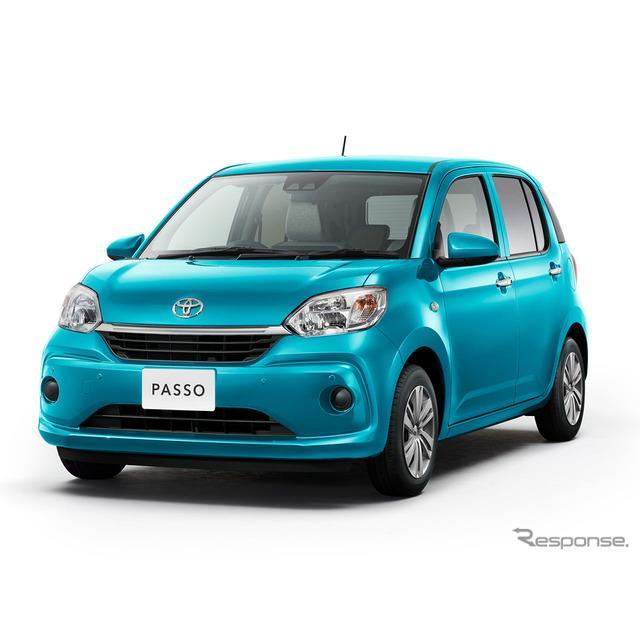 トヨタ自動車は、小型乗用車『パッソ』を一部改良し、4月1日より販売を開始した。  今回の一部改良では、...