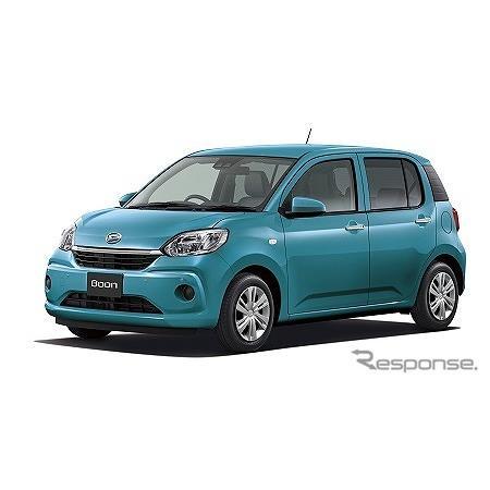 ダイハツは、小型乗用車『ブーン』を一部改良、全グレードで安全装備を強化し、4月1日より販売を開始した。...