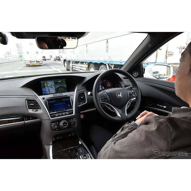 2021年3月5日、「Honda SENSING Elite(ホンダセンシングエリート)」を搭載したホンダ『レジェンド』が発...
