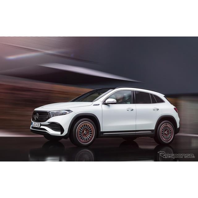 メルセデス・ベンツ日本は、SUVタイプの新型電気自動車(EV)『EQA』の発表記念特別仕様車「EQA 250 エディ...
