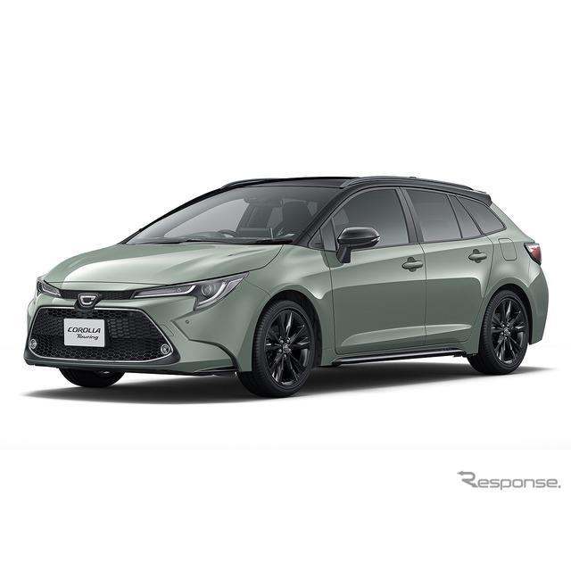 トヨタ自動車は、コンパクトワゴン『カローラツーリング』に特別仕様車「アクティブライド」を500台限定で...