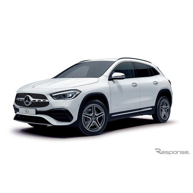 メルセデス・ベンツ日本は、都市型SUV『GLA』(Mercedes-Benz GLA)にエントリーモデル「GLA180」を追加し...