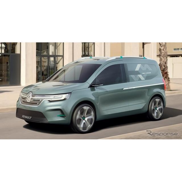 ルノーは4月1日、新型『カングー』(Renault Kangoo)のEVを、2022年に追加設定すると発表した。  新型カ...