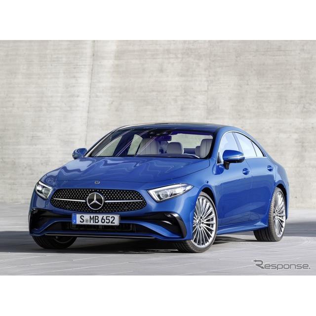 メルセデスベンツは4月7日、改良新型『CLSクーペ』(Mercedes-Benz CLS Coupe)を欧州で発表した。  『CL...